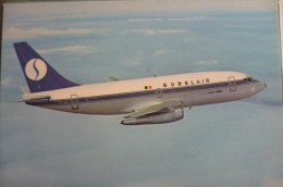 SOBELAIR   B 737 200  OO SBA AIRLINE ISSUE - 1946-....: Era Moderna