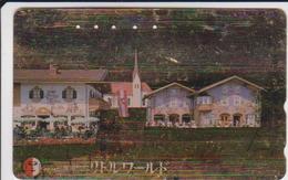 JAPAN - GOLD CARD 411 - AUSTRIA RELATED? - Japón
