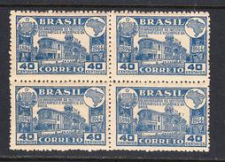 Brazil 1945 Mint No Hinge, Block, Sc# 634 , Yt - Brazilië