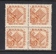 Brazil 1944 Mint No Hinge, Block, Sc# 623 , Yt - Brazilië