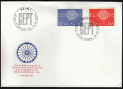 Switzerland 1960 / Europa CEPT / FDC - Europa-CEPT
