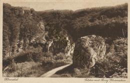 Hönnetal - Felstor Mit Burg Klusenstein [KST-F 0.199 - Deutschland