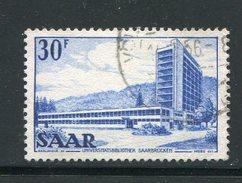 SARRE- Y&T N°314- Oblitéré - 1947-56 Occupation Alliée