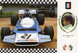 Jean-Pierre Beltoise  -  Matra MS120   -  Serie Gran Prix No 32  -  Carte Postale - Grand Prix / F1