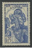 GUINEE 1938 YT 141** - NEUF SANS CHARNIERE NI TRACE - Guinée Française (1892-1944)