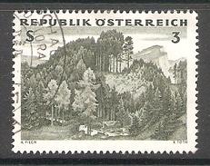 003782 Austria 1962 Forest 3s FU - 1945-.... 2de Republiek