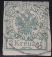 Austria       .     Yvert   .     Zeitung  Taxe  2     .    O    .     Gebruikt   .    /    .     Cancelled - Dagbladen