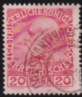 Austria  - Levant     .     Yvert   .     46a  .    O    .     Gebruikt   .    /    .     Cancelled - 1850-1918 Keizerrijk