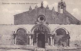 Siracusa Chiesa S Giovanni Delle Catacombe (pk34781) - Siracusa