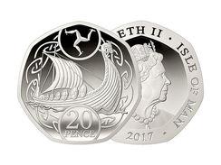 ISLA DE MAN  / ISLE OF MAN  20 PENCE  2.017  2017  CU-NI  SC/UNC   T-DL-12.095 - Monedas