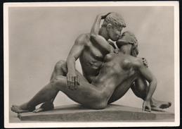 A3682 - Alte Foto Künstlerkarte - Erotik Anton Grauel - Liebende - Hoffmann - N. Gel - Sculptures