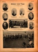 Kaiserparade Vor Dem Gardedenkmal In St.Privat,Von Der Kanalfeier In Dortmund /Druck,entnommen Aus Zeitschrift,1899 ? - Libros, Revistas, Cómics