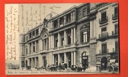 IBU-27  Buenos Aires Bolsa De Comercio. Attelages. Pioneer. Used In 1905 To Roubaix France - Argentina