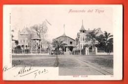 IBU-30 Recuerdo Del Tigre  Boat Club. . Pioneer. Used In 1903 To Roubaix France - Argentina