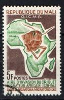 MALI - 1964 - LOTTA ALLA LOCUSTA - USATO - Mali (1959-...)