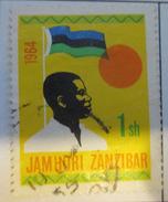 Zanzibar 1964  (o) #  313 - Zanzibar (1963-1968)