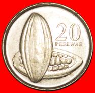 § COCOA: GHANA ★ 20 PESEWAS 2007 MINT LUSTER! LOW START★ NO RESERVE! - Ghana