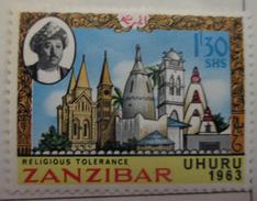 Zanzibar 1963  MH*  #  283 - Zanzibar (1963-1968)