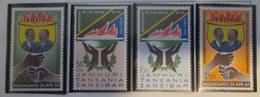 Zanzibar 1966  MNH**  #  331/334 - Zanzibar (1963-1968)