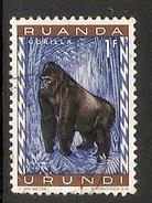 003844 Ruanda Urundi 1959 Animals 1F FU - Ruanda-Urundi