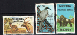 NIGERIA - 1990 - FAUNA AFRICANA - USATI - Nigeria (1961-...)