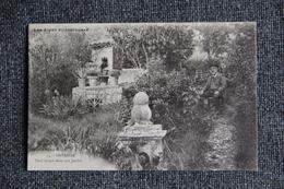 SISTERON - Paul ARENE Dans Son Jardin - Sisteron