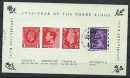 GROSSBRITANNIEN GRANDE BRETAGNE GB 2006 THREE KINGS M/S  USED SG MS2658 SC 3107 MI B31 YV BF39-2460 - Hojas Bloque