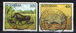 BOTSWANA - 1992 - FAUNA AFRICANA - ANIMALS - USATI - Botswana (1966-...)