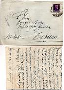 1944  LETTERA  CON TESTO - 4. 1944-45 Repubblica Sociale