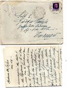 1944  LETTERA  CON  ANNULLO MANTOVA - 4. 1944-45 Repubblica Sociale