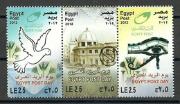 "Egypt - 2012 - ( Egypt Post Day - Building Of Egyptian National Postal Authority ""Postal Museum"" ) - MNH (**) - Nuovi"