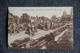 ANGKOR VAT - Fêtes Données En L'honneur De Monsieur Le Maréchal JOFFRE. - Cambodge