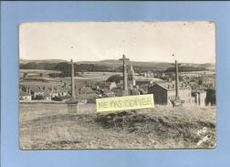 Carte-photo Saint-Didier-en-Velay (43-Haute-Loire) 2 Scans Le Calvaire & L'église - Saint Didier En Velay