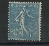 FRANCE -  50c TURQUOISE TYPE SEMEUSE - N° Yvert 362** - 1903-60 Semeuse Lignée