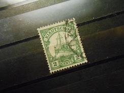 D.R.29a - 2C   Deutsche Kolonien (Kiautschou) 1905  Mi € 1,50 - Colony: Kiauchau