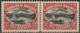 Bolivia 1916 ** CEFIBOL 127, 127j. Lago Titicaca. Par, Variedad. 2 Scan. See Desc. - Bolivia