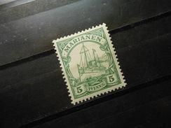 D.R.Mi 8 - 5Pf*/MLH  Deutsche Kolonien ( Marianen ) 1901  Mi € 1,30 - Colonia:  Islas Maríanas