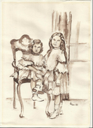 Kunst Kinder  Format 210-297mm - Andere Sammlungen