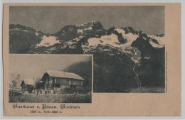 Gatshaus Zum Bären, Gadmen (1207 M) Titlis (3239 M) Note Rechnung - BE Berne