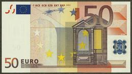 Portugal - M - 50 Euro - H007 A4 - M90098662891 - Duisenberg - UNC - EURO