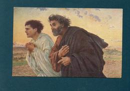 E. BURNAND - Les Disciples - Peintures & Tableaux