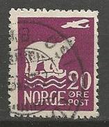 NORVEGE N° 106 OBL