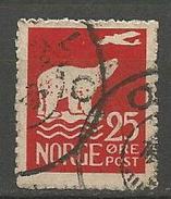 NORVEGE N° 107 OBL