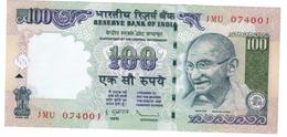 India 100 Rup. 2010, UNC. Free Ship. To USA. - India