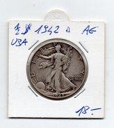 Stati Uniti - 1/2 Dollaro - 1942 - Argento - (FDC4495) - Stati Uniti
