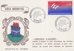 Carte  Maximum  1er  Jour   Bicentenaire  De  La   REVOLUTION    NIMES    1989 - Franz. Revolution