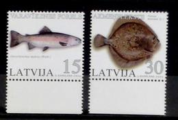 Latvia Lettland Lettonia 2004. Fishes. MNH** - Latvia
