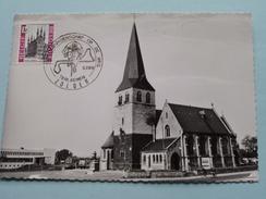 St. VINCENTIUSKERK En GEMEENTEHUIS ( Wereldkampioenschap Op De Weg ) Zolder - Anno 5-7-69 ( Zie Foto ) !! - Heusden-Zolder