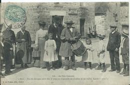 AU PAYS CREUSOIS - Avis.. (tambour De Village ( Un Pli Dans Un Angle ) - Unclassified