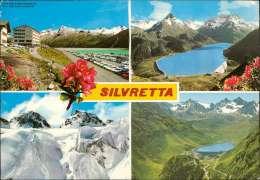 Silvretta - Österreich Mehrbildkarte - Österreich